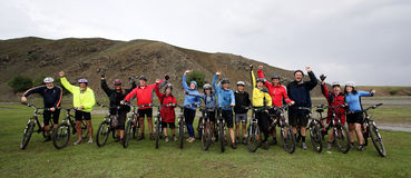 Mountain Biking Adventure Royalty Free Stock Photo