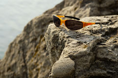 Mountain Biking Shades Stock Photo