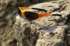 Mountain Biking Shades 2 stock photography