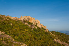 Mountain in Binh Ba island, Cam Ranh City, Khanh Hoa province, Vietnam Stock Images
