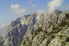 Mountain Biokovo in Croatia Stock Photos