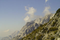 Mountain Biokovo in Croatia Royalty Free Stock Photos