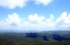 Mountain with blue sky Stock Photos