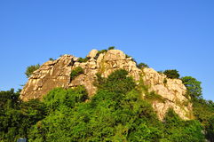Mountain with bluesky Royalty Free Stock Photography