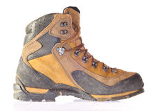 Mountain boot. Royalty Free Stock Image