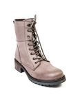 Mountain boot for women made of leather Royalty Free Stock Photography