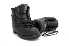 Mountain boots Royalty Free Stock Photo
