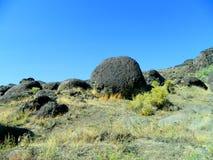 Mountain boulder Royalty Free Stock Photos
