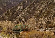 Mountain Bridge Royalty Free Stock Image