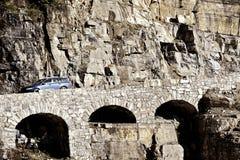 Mountain Bridge Stock Photo