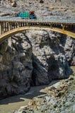 Mountain Bridge Royalty Free Stock Photos
