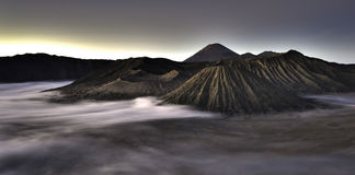 Mountain Bromo Stock Photography