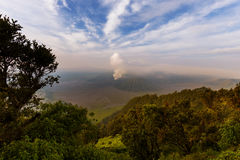 Mountain Bromo volcano - island Java Indonesia Stock Images