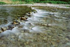 Mountain brook. A mountain stream in the High Tatras, Slovakia Royalty Free Stock Images