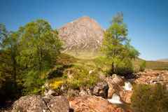 Mountain Buachaille Etive Mor Royalty Free Stock Photography