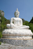 Mountain Buddha in Thailand Royalty Free Stock Photography