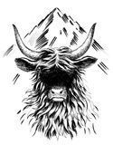 Mountain bull Royalty Free Stock Images