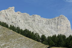 Mountain Bure in Alps Royalty Free Stock Image
