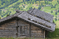 Mountain cabin Royalty Free Stock Photo