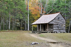 Mountain Cabin. A cabin in the mountains of tennessee Stock Photo