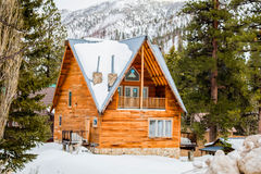Mountain Cabin in Mount Charleston, Nevada Stock Photography