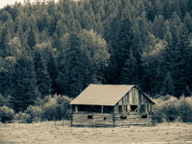 Mountain Cabin Stock Images