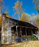 Mountain cabin panoramic Royalty Free Stock Images
