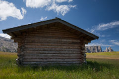 Mountain cabin with plenty room Stock Photography