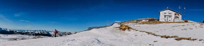 Mountain cabin, Sinaia, Bucegi Mountains, Romania Royalty Free Stock Photos