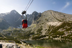 Mountain Cable Car Stock Photos