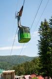 Mountain cable car Stock Photography