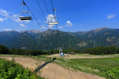 Mountain Cable Car (Gondola) Stock Photography