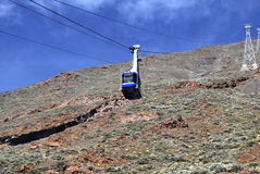 Mountain cablecar Royalty Free Stock Photo