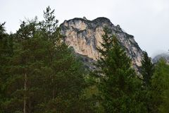 Mountain in Cadore, Belluno region, Italy stock photos