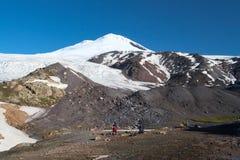 Mountain camp Stock Photos