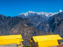 Mountain camp - Himalayas Royalty Free Stock Photos