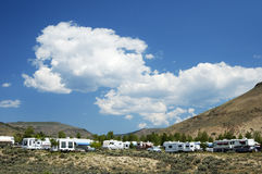 Mountain Campground 1 Stock Images