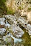 Mountain canyon on springtime Stock Photo