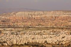 Mountain Cappadocia landscape ,Turkey. Goreme national park. Stock Image