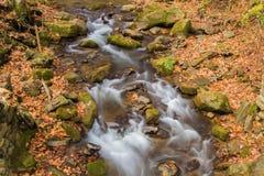Mountain Cascade Waterfall Royalty Free Stock Image