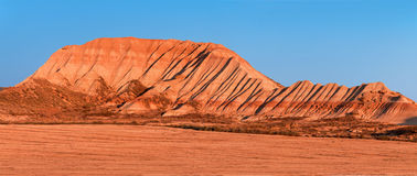 Mountain Castildetierra in Bardenas Reales Nature Park, Navarra, Stock Photos