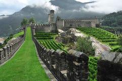 Mountain Castle stock photos