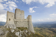 Mountain castle of Calascio Royalty Free Stock Photos