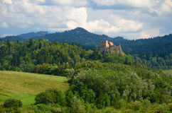 Mountain castle Stock Image