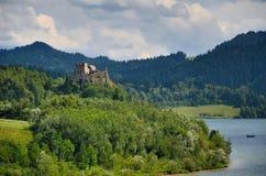 Mountain castle Royalty Free Stock Photo