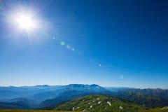 Mountain in Caucasus Royalty Free Stock Photos