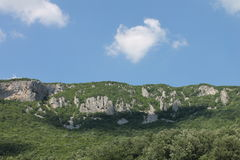 Mountain in Central Serbia near Manasija monastery. Mountain in Central Serbia near monastery Manasija Royalty Free Stock Photo