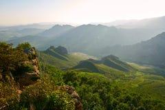 The mountain chain Stock Photo