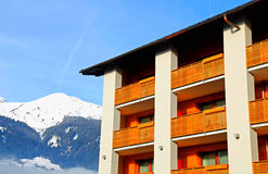 Mountain chalet (Austria) Stock Photo
