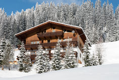 Mountain Chalet, Austria Stock Photography